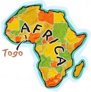 Togo Africa Map