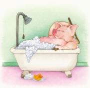 Pig in a Tub